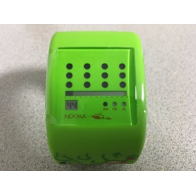 Reloj Nooka Zub Zot Slimeball Silicon Verde No Smarthwatch