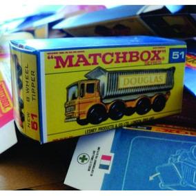 Matchbox Reprobroxes Tipo F 1968-70 Todos Los Modelos