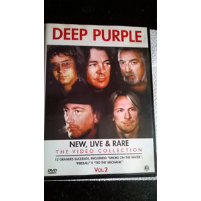 Dvd Deep Purple: New, Live & Rare : The Video Collection