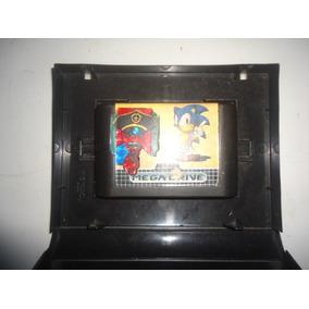 Cartucho Para Mega Driver Com O Jogo Sonic Produto Usado