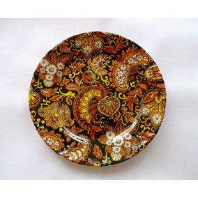 Pratos Porcelana Decoração Padrão Chintz (valor Unit.)