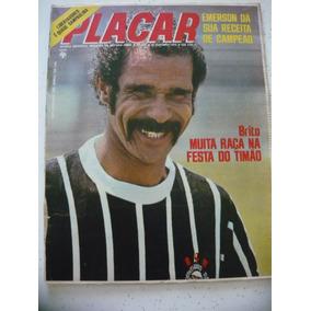 Placar 239 Tabela Sp 1974 Jornalzi Corinthians Bota Ribeirão