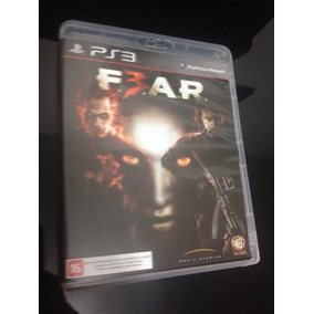 Jogo Fear 3 Game Ps3 Dvd Original Midia Física Colecionador