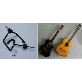 Soporte Horizontal De Pared Para Guitarras