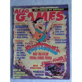 Revista Ação Games N° 34 Editora Azul