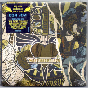 Cd Bon Jovi What About Now Digipack Original E Lacrado
