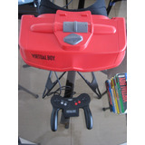 Nintendo Virtual Boy + 8 Juegos - Scbros Store - Snes - 3ds