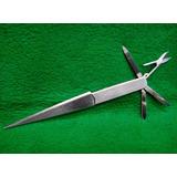 Canivete Abridor De Carta Antigo Japão Aço