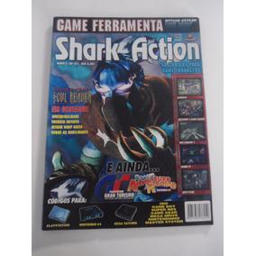 Revista Shark Action Nº 01 Com Suplemento - Frete 10,00