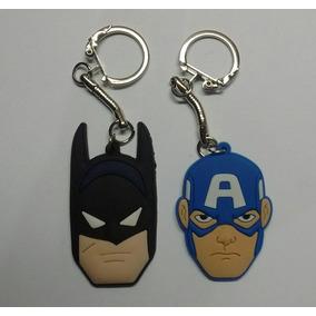 Chaveiros Batman E Capitao America Emborrachados