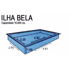 Piscina Fibra 10000 Litro Piscinas No Mercado Livre Brasil