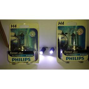 Lâmpada H4 Blue Vision 60x55 Mais Leds