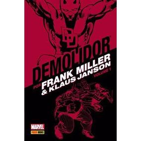 Demolidor Por Frank Miller E Klaus Janson Vol. 1 Panini