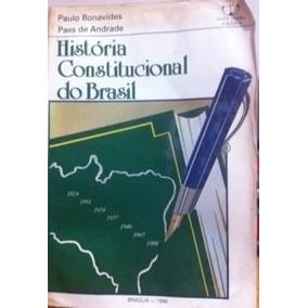 História Constitucional Do Brasil Paulo Bonavides