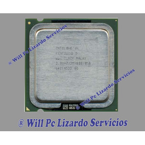 Procesador Intel Pentium D / 2.8 Ghz Para Pc Escritorio