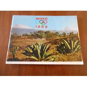 Revista Com Fotos Do México Nas Olimpiadas De 1968