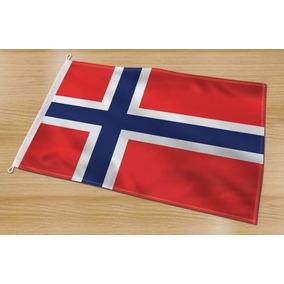 Noruega Bandeira Oficial Padrão Luxo Copa Nova Oslo