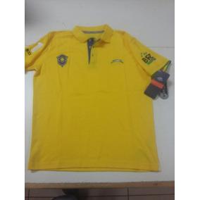 Playera Tipo Polo Original Atletica De Brasil