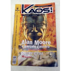 Gibi Revista Kaos! Numero 1 - Alan Moore, Marcelo Cassaro