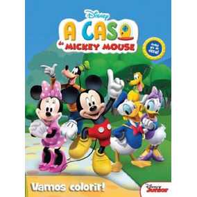 Livro Disney - Vamos Colorir - A Casa Do Mickey Mouse