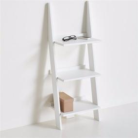 Librero De Diseño Estilo Minimalista En Forma De Escalera