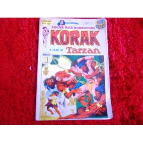 Korak O Filho De Tarzan (tarzan-bi Em Cores) 1ª Série - N° 1