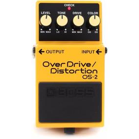 Pedal Boss Os-2 Overdrive Distortion Para Guitarra Os2 / Wx
