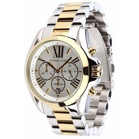 Relógio Michael Kors Mk5627 Prata E Dourado Original Em 12x ... 27891e0c14