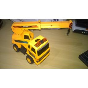 Antigo Caminhão Guincho Crane Eb-205 E.bo Toys