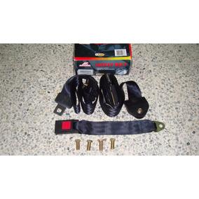 Cinturon 3 Puntos Negro (jgo)