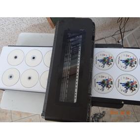 Hp 7110 Kit Adaptação Para Imprimir 6cd´s Em 40 Segundos!!!