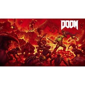 Poster Cartaz Jogo Doom #f - 30x42cm