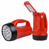 Lanterna Holofote Dp Led-735 Com Luz De Emergência Kit 6 Pç