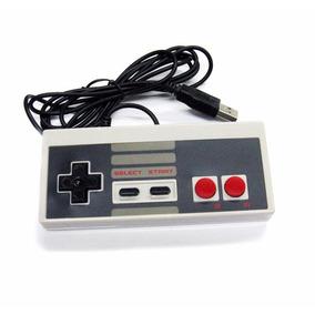 Controle Nintendinho Usb Nes Pc Nintendo Frete Grátis