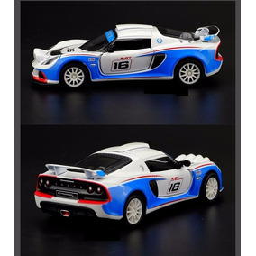 Carro Miniatura Lotus Exige R-gt 1:32 Racing Car Importado