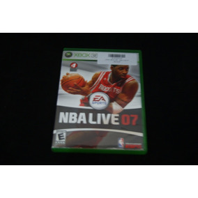Jogo Xbox 360- Nba Live 07