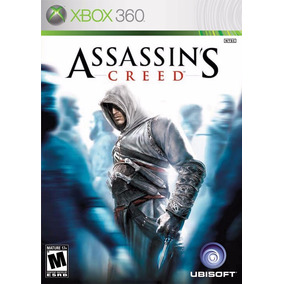 Jogo Assassins Creed 1 Xbox 360 X360 Ac1 Game Mídia Física