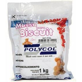 Massa De Biscuit Polycol Colorida 1kg