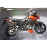 Ktm Duke 690 Escala 1/18 Coleccion Metalica Moto 12cm