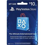 Sony Tarjeta Prepago Play Station Store Network Usa Psn $10