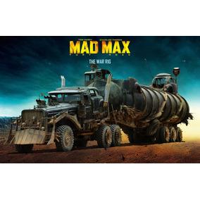 Kit Promocional Mad Max 4 Em 1 Papercraft