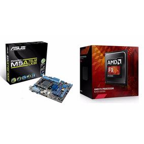 Kit Asus M5a78l-m Lx/br + Processador Amd Fx 6300