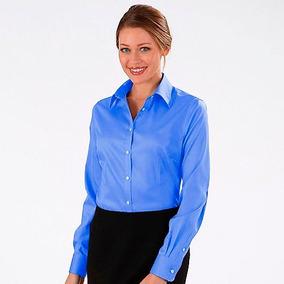 Uniforme Social Feminino Azul Marinho - Camisas no Mercado Livre Brasil eacc26a12f2