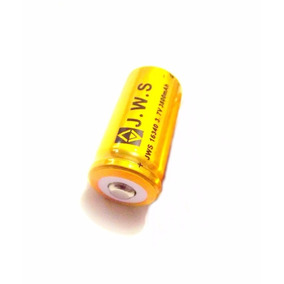 Bateria Bailong Original Recarregável 16340 Cr123a