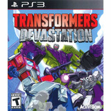 Transformers Devastation Ps3 Digital Ingles Gcp