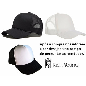 Bone Trucker Rich Young - Bonés para Masculino no Mercado Livre Brasil b21a9dd398e