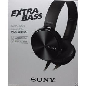 Fone Ouvido Modelo Mdr-xb450ap Headphone Com Fio