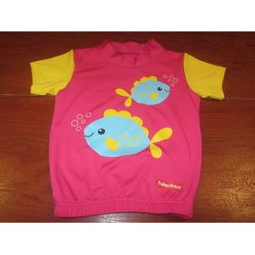 Camiseta Aquática Importada Fisher Price f3f2797080b16