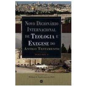 Dicionario Internacional De Teologia Do Antigo Testamento Pdf
