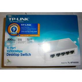 Concentrador Desktop Switch 10/100mbps 5-port